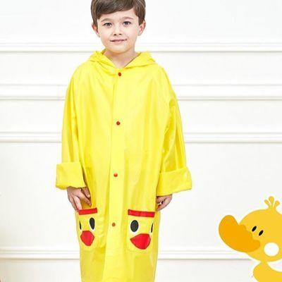 宝宝防护雨衣男女儿童雨披幼儿园小孩子卡通下雨环保走路防水雨具