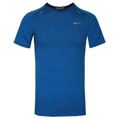NIKE耐克短袖男装2020夏季新款运动T恤圆领条纹体恤衫CJ5345-402