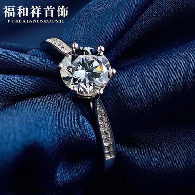 网红复古跨境韩国开口s925银戒指女纯银锆石钻戒镶钻戒子指环饰品