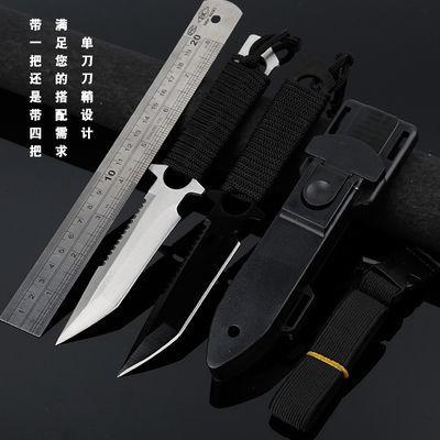 必备户外刀具绑腿锋利水果刀短刀小直刀高硬度军工刀防身随身非折