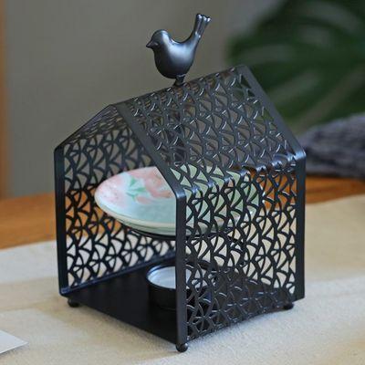 香薰炉熏香蜡烛精油灯陶瓷手工铁艺美容院会所家居摆件助睡眠安神