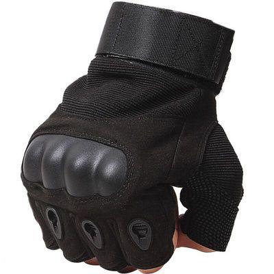 户外运动骑行战术半指防滑耐磨透气半指手套男士器械学生健身手套
