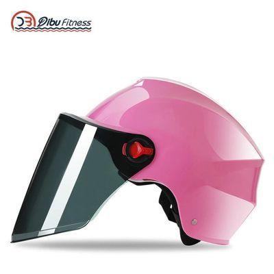 电动车头盔四季通用夏季防晒防紫外线半盔男女士成人摩托车安全帽