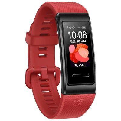 华为原装智能手环4Pro 运动NFC心率游泳防水器腕带手表男女版 p30