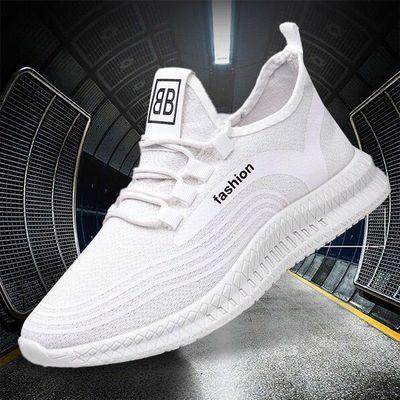 2020新款时尚休闲鞋户外透气男鞋韩版潮流运动鞋xz