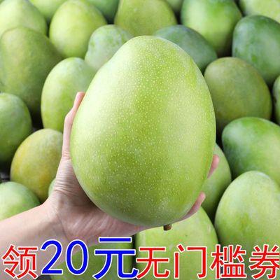 攀枝花凯特大芒果新鲜水果芒果青芒赛脸芒3/5/10斤单果150-1200g