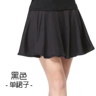 广场舞服装裙夏季新款套装烫贴牛奶丝短裙女成人练功服舞蹈服