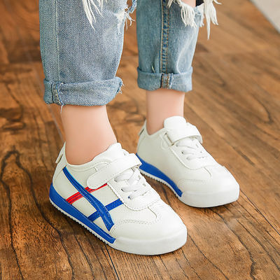 男女童小白鞋儿童休闲板鞋女透气春季新款运动鞋学生软底百搭单鞋