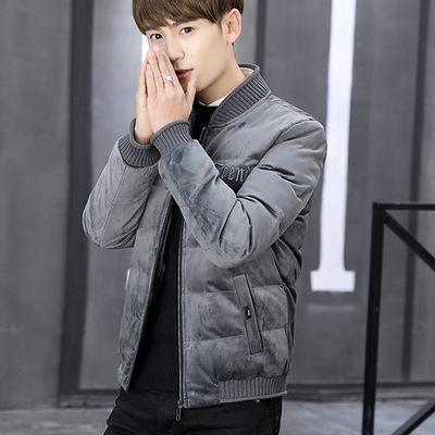 棉衣男士外套青年加厚冬季2019新款男装棉服韩版学生短款棉袄子男