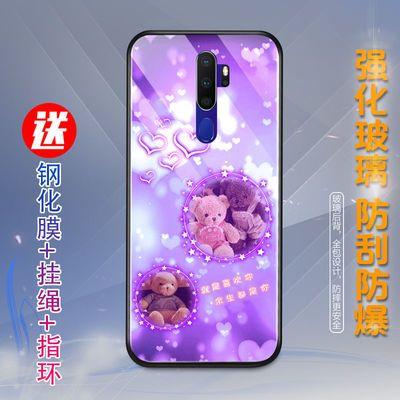OPPOa11x手机壳女a92s/a91/a52/a8/a7x/a5/a3/a7防摔玻璃男潮新款