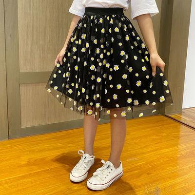 2020年夏装女童半身裙新款网红儿童小邹菊网纱洋气韩版百搭中小童