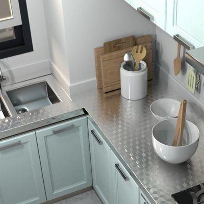 厨房防油贴纸防水防潮耐高温自粘灶台橱柜桌面铝箔纸瓷砖贴墙贴