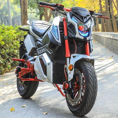 新款小猴子m5 小怪兽z6电动摩托车72v电瓶车高速电摩双人跑车男