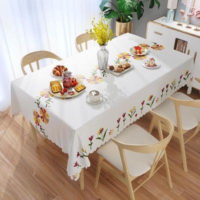 餐卓台布茶几桌布轻奢日系桌布舞台布景pvc桌布北欧正方形台布蕾