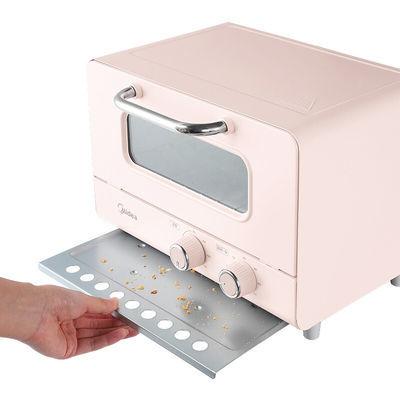 美的家用电烤箱小型烘焙多功能全自动12升小容量迷你小烤箱PT12A0