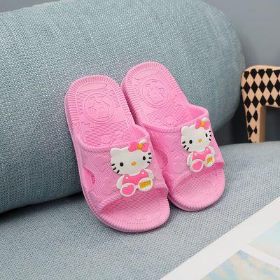 卡通儿童拖鞋防滑软底小男孩夏季居家小学生女孩公主凉拖鞋3-8岁