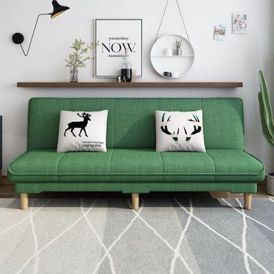 北欧可折叠沙发床两用坐卧客厅单人多功能1.2米小户型经济双人