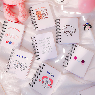 小号便携记事本创意迷你口袋随身线圈本子日程笔记本可爱日记本女
