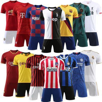 足球服套装男训练服定制夏季学生球衣短袖比赛队服成人儿童足球衣