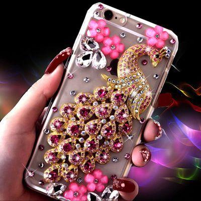 苹果iPhone11 11pro X XS XR 8plus 7plus 6plus 5 4手机壳水钻女