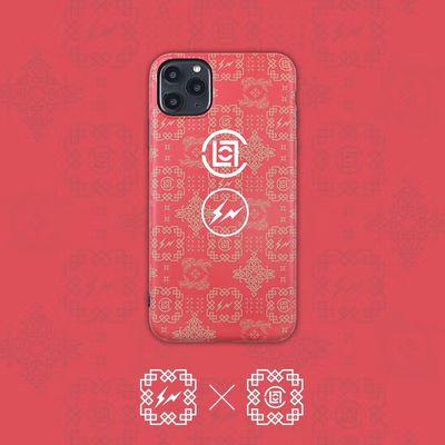 陈冠希CLOT联名AJ白丝绸苹果Xr手机壳iPhone11pro/7/8plus/Xs max
