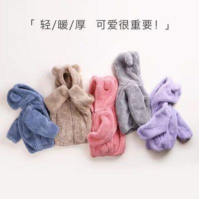 童装儿童外套男童女童秋冬外套2020新款童宝宝秋冬外套婴儿珊瑚绒