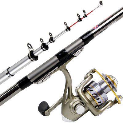 光威矶钓竿新款碳素轻硬KN矶竿套装4.5+5.4+6.3米鱼竿手海两用