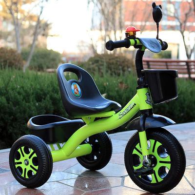 正品儿童三轮车脚踏车自行车1-5岁小孩宝宝手推车3男孩女孩玩具车