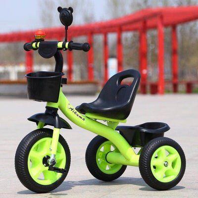 新款儿童三轮车脚踏车宝宝手推车小孩2-6岁自行车男女孩脚蹬单车