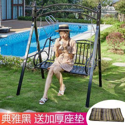 秋千别墅户外室内阳台庭院吊篮吊椅儿童成人家用藤椅铁艺双人摇椅