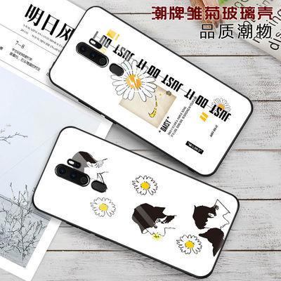 OPPOA11x手机壳a11玻璃潮牌时尚保护套少女款ins风日韩网红外壳男