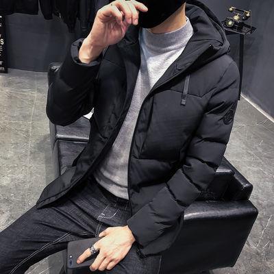 棉服男短款带帽加厚韩版棉衣男面包服外套潮流男装冬天衣服棉袄男