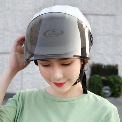 摩托车头盔全盔男女电动车夏季防紫外线防晒保暖安全帽多款个加厚