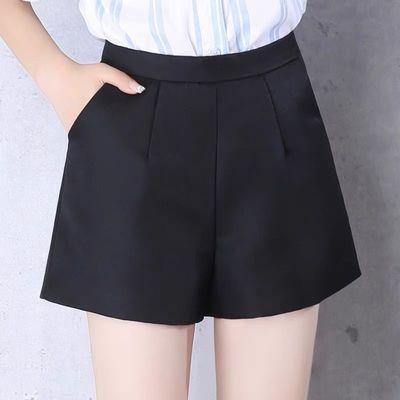 白色西装糖果大码夏季200斤短裤裙五分裤新短袖短裤套装女雪纺款