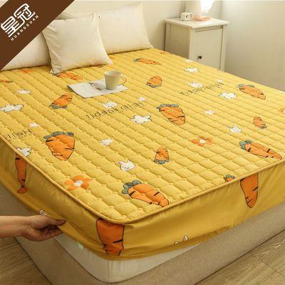 皇冠夹棉床笠床罩床单单件透气床垫罩加厚床罩套席梦思保护套全包