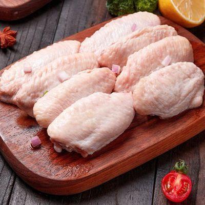 活杀新鲜冷冻鸡翅鸡翅中翅尖可做奥尔良鸡翅可乐鸡翅红烧鸡翅袋装