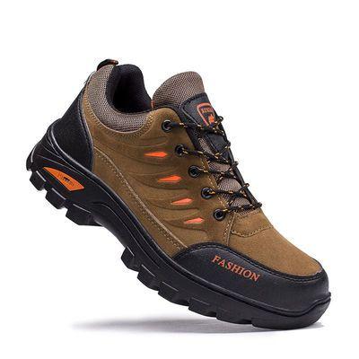 麦菲欧莱户外登山鞋男鞋劳保鞋登山男鞋耐磨防滑运动鞋劳保鞋单鞋