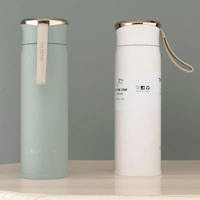 艾可思特思拉新品304不锈钢保温杯创意礼品水杯定制logo户外杯子