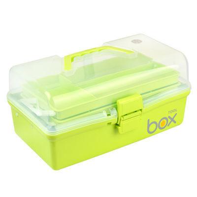 医药箱家庭用三层收纳盒医疗储物箱学生手提美术画笔工具箱大小号