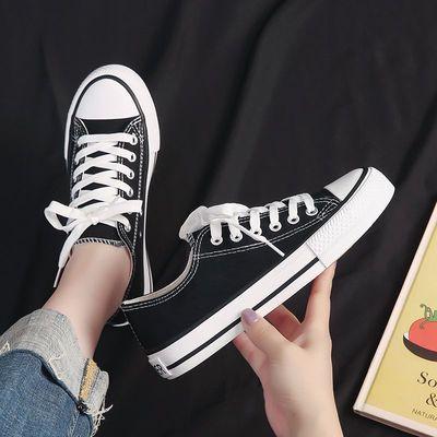 三次硫化1970S帆布鞋女低帮韩版经典复古情侣款学生百搭板鞋