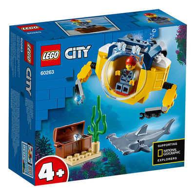 百亿补贴:LEGO 乐高 城市系列 60263 迷你海洋潜艇