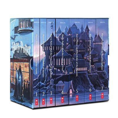 【热卖】现货 哈利波特全集英文原版小说 Harry Potter 1-7册纪念