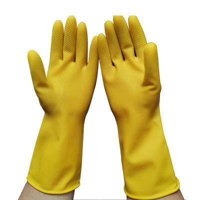 【3双5双】南洋牌加厚牛筋乳胶家务橡胶防水胶皮劳保耐磨用手套