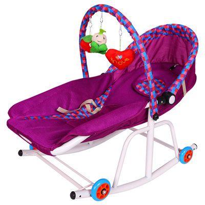 热销【特价三天】婴儿电动摇摇椅躺椅多功能宝宝摇篮电动哄娃神器