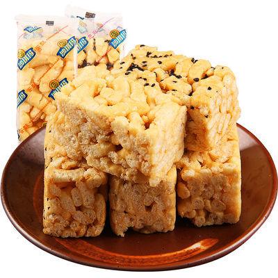 【热卖】徐福记 沙琪玛500g散装蛋酥芝麻味儿童零食甜品糕点整箱5