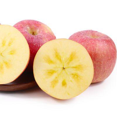 陕西精品洛川红富士苹果正宗脆甜当季新鲜水果3斤5斤10斤整箱批发