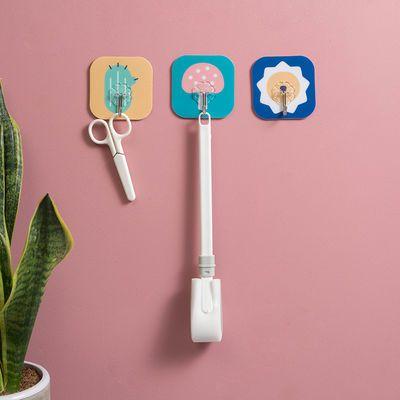 FASHIONEARTH厨房浴室卫生间无痕挂钩吸盘超强力粘胶挂钩瓷砖壁挂