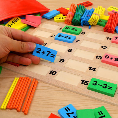 BestwolfSportShoes儿童数字运算多米诺骨牌3-4-5-6-7岁男女孩宝