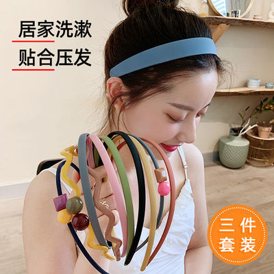 FASHIONEARTH韩国甜美可爱发箍女洗脸实用发卡简约发窟网红宽边防