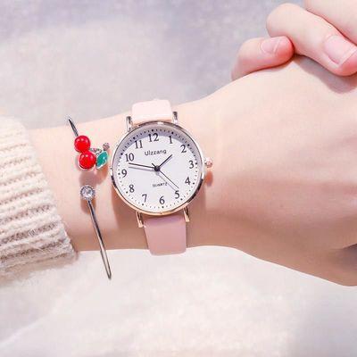 手表女2020年新款学生森系少女心小清新防水学院风韩版简约ins风